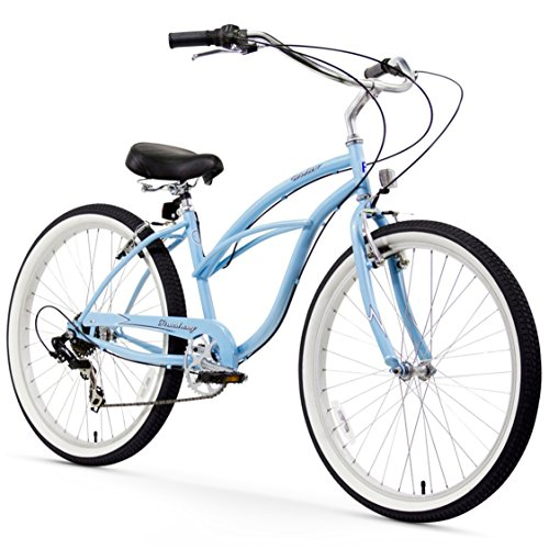 Firmstrong Urban Lady Beach Cruiser Bicycle (24-Inch, 26-Inch, and eBike)