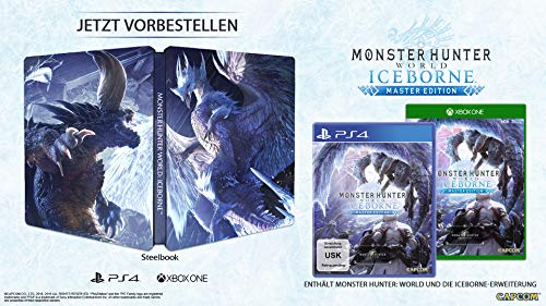 Monster Hunter World: Iceborne, PS4 + Steelbook