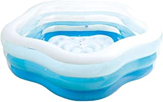 Inflatable Swimming Pool, Family Inflatable Rectangular Paddling Swimming Pool, 9 Sizes and Styles for You to Choose BJY96...