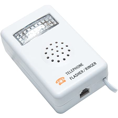 Avalva 1245 - Timbre telefónico con luz, color blanco