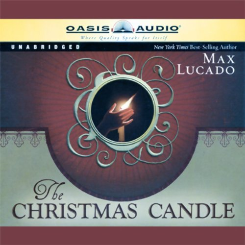 The Christmas Candle audiobook cover art