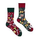 Spox Sox Casual Unisex - mehrfarbige, bunte Socken für Individualisten, Gr. 36-39, Weihnachtsgeschenke
