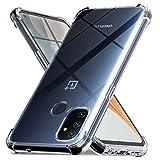 Ferilinso Cover per OnePlus N100 / OnePlus Nord N100 [Transparente TPU Custodia] [Compatibile...