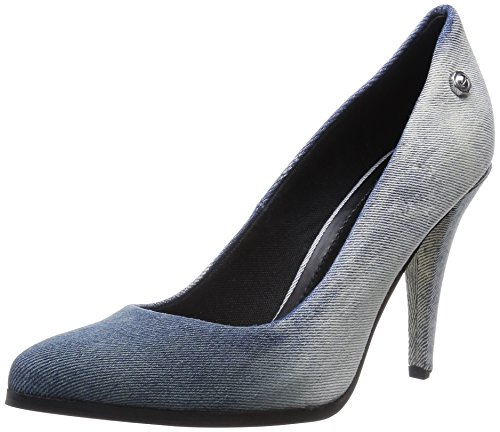 Diesel Damen Jeans Pumps Stilettos Lara-K (EUR 35, Denim)
