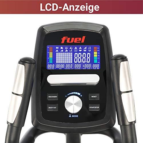 Fuel Fitness CT500 Crosstrainer LCD Display