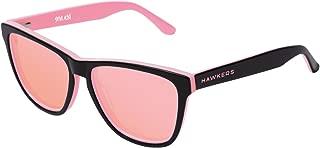 Hawkers HNX02 Gafas de Sol Unisex Adultos, color Negro, 50 mm