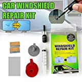 MOOHOP Windshield Repair Resin Kits Car Window Repair Tool Glass Scratch Crack Restore