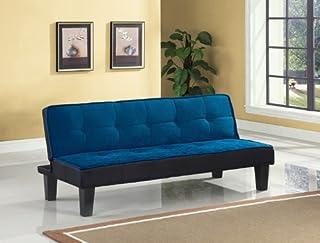 ACME Hamar Adjustable Sofa - 57031 - Blue Flannel Fabric