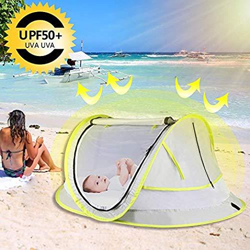 StillCool Baby Reisebett Portable Pop Up Sommer Strand Moskitonetz & Sun Shelter mit 2 Pegs Falten Infant Krippe Moskitonetz - 5