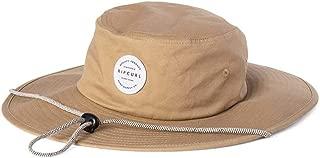 Rip Curl Men's Valley Wide Brim HAT, Khaki, 1SZ