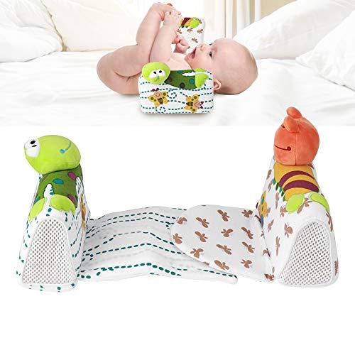Gedourain Almohada Moldeadora de Cabeza de bebé, Almohada Moldeadora de Cabeza Plana Transpirable para bebé con Cierre de Gancho y Bucle para bebé para Cama para niños para Dormitorio