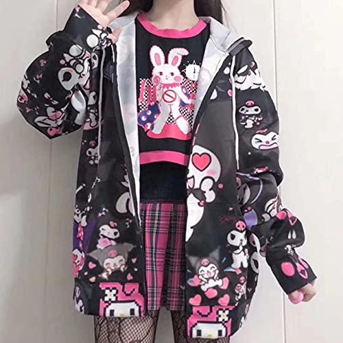 Japonés Kawaii Girl Chaqueta Hecho en casa Linda Linda Dulce Chaqueta Spring JK Uniforme Cardigan Harajuku Abrigos y Chaquetas Mujeres