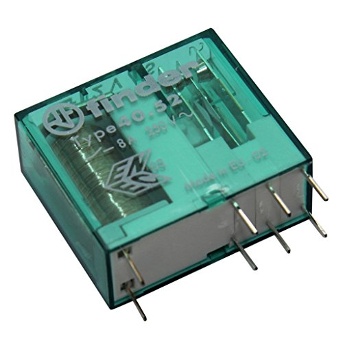 40.52.8.060.0000 Relay electromagnetic DPDT Ucoil60VAC 8A/250VAC FINDER