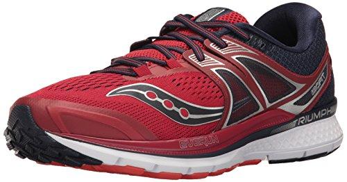 Saucony Triumph ISO 3, Zapatillas de Running para Hombre, (Grey/Black/Lime), 40.5 EU