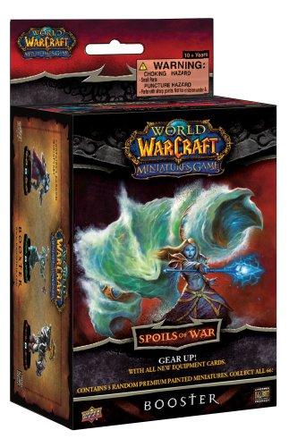 WORLD OF WARCRAFT - MINIATURES GAME - SPOILS OF WAR - BOOSTER