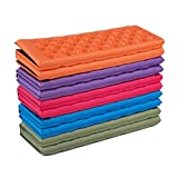 WINOMO plegar el cojín alfombra camping mesa de picnic espuma del asiento alfombra al aire libre XPE de picnic cinturón de seguridad portátil impermeable (rojo)