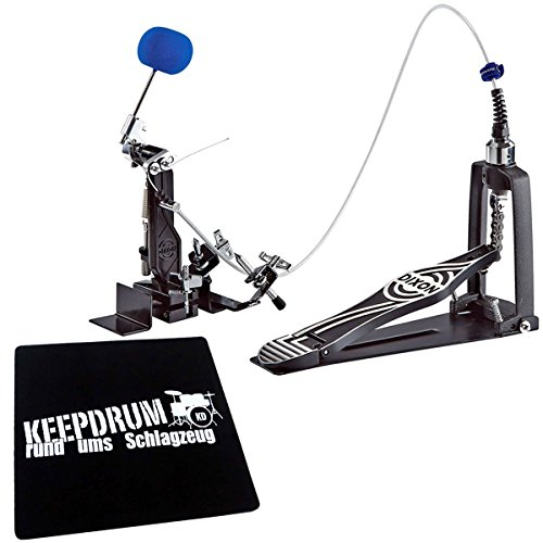 Dixon PP9290CP2 Cajon Remote Pedal + keepdrum Sitzpad
