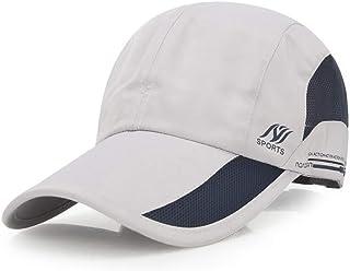 AUOON Sport Cap Summer Quick Drying Sun Hat UV Protection Outdoor Cap for Men, Women