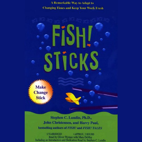 Fish! Sticks audiobook cover art