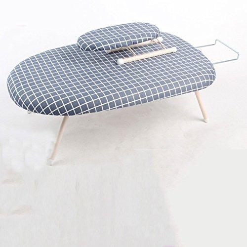 LWXTY Small Table Top Strijkplank Opvouwbare Ruimtebesparing, Stalen Net Top Sleeve Strijkplank Extra Stabiele Benen