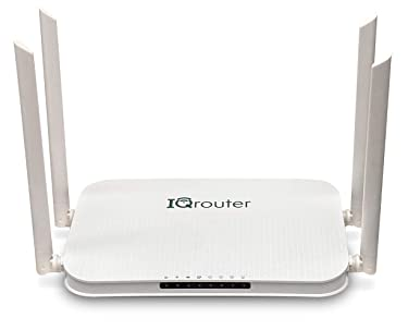 IQrouter – IQRV3 Self-Optimizing Router with Dual Band WiFi adapts to Your line for Improved Quality
