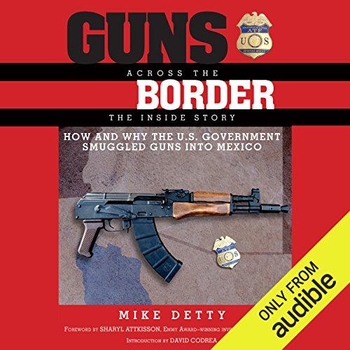 Guns Across the Border audiobook cover art