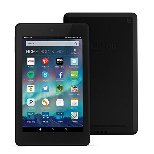 Fire HD 6 Tablet, 6' HD Display, Wi-Fi, 8 GB - Includes Special Offers, Black (Previous Generation - 4th)
