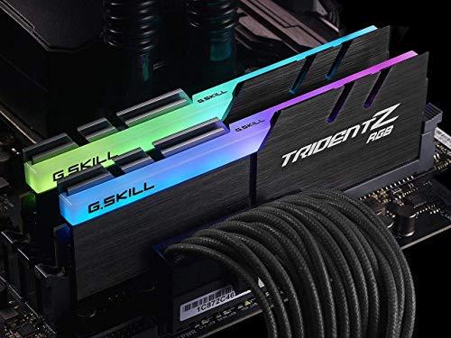 G Skill F4-3200C16D-16GTZR - Tarjeta de Memoria de 16 GB, Color Negro 2
