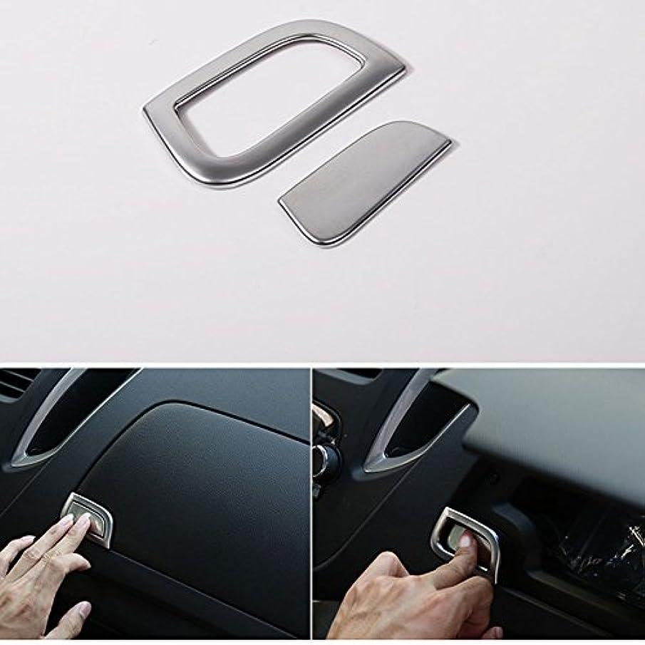 多様な素敵なインターネットJicorzo - Car Dash Golve Storage Box Switch Button Cover Trim ABS Chrome Decor Frame Car Styling Sticker For Chevrolet TRAX 2014 2015 2016