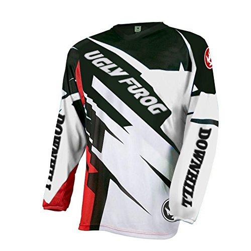 Future Sport Uglyfrog Herren Langarm Fahrrad Trikot T Shirt Radtrikot Cycling Jersey für Radsport