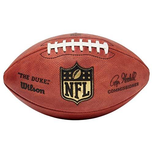 NFL Wilson Duke Game Football (9, Brown)