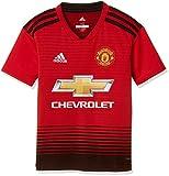 adidas 18/19 Manchester United Home Camiseta, Niños, Rojo (rojrea/Negro), 152