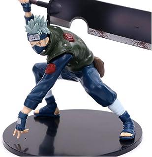 Wwwx Anime Ninja Broadsword PVC Action Figure Collection Model Sculpture Decoration 15 cm