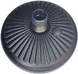 Dulcicasa Soporte de sombrilla de plástico para jardín, terraza, diámetro de 35-38 mm