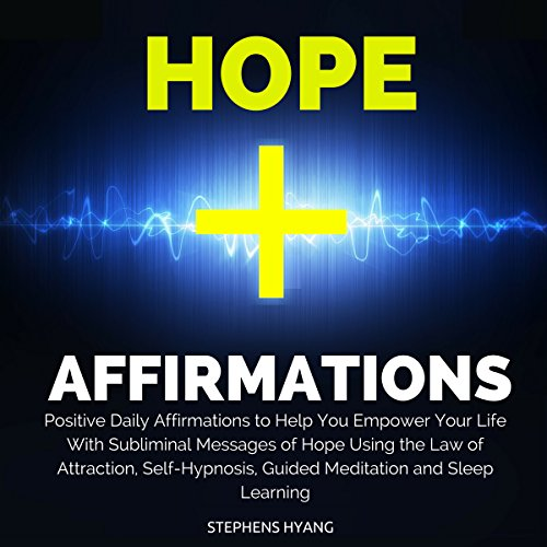 Hope Affirmations audiobook cover art