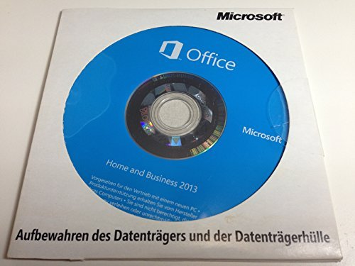 Office 2013 Home and Business OEM DVD 1PC Deutsch