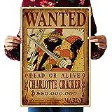 WholesaleSarong Charlotte Cracker Wanted Anime Manga Cosplay Poster Home Decor Items
