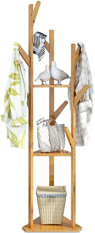 Floor-to-Ceiling Bedroom Simple Economical Clothes Rack Creative Hanger Floor (color   Primary color)