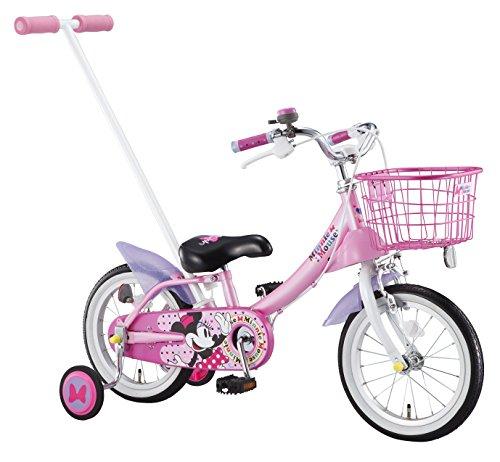 アイデス (ides) かじとり カジー14 / ミニーマウス 14インチ 子ども用 キッズ 自転車 幼児車 かじとり デ...