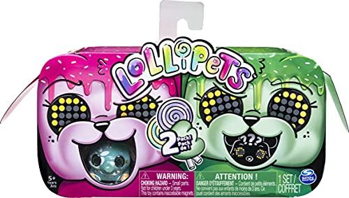 Zoomer Lollipets Interaktives Mini-Sammeltier mit Süßigkeiten-Zubehör, für Kinder ab 5 Jahren (Stil kann variieren)