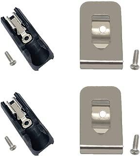 Replacement Bit Holder and Hook Clip for Dewalt 20V Max Drill Tools DCD980 DCD985 DCD980L2 DCD985L2
