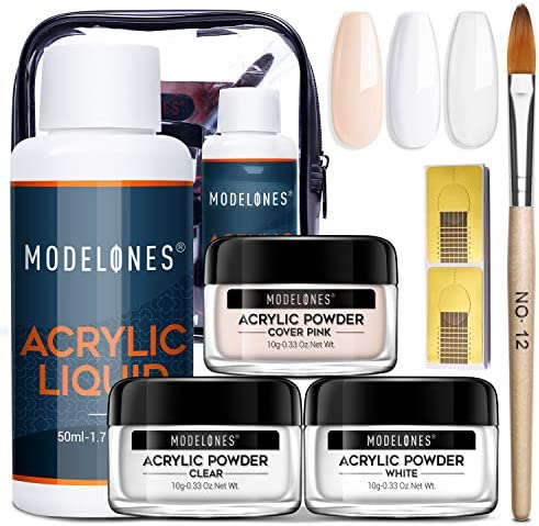 Acrylic Powder and Liquid Set Modelones Acrylic Nail Starter Kit with Professional Acrylic Nail product image