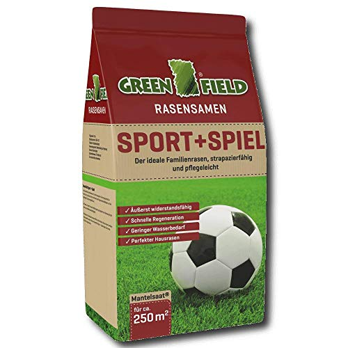 Greenfield Sport + Jeu Strapazierrasen, 5 kg pour 250 M²