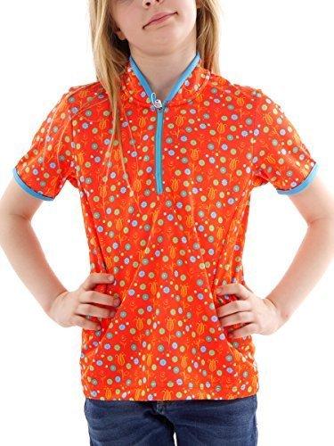 CMP Campagnolo T-Shirt Bike Girl Fille, Orange, 176