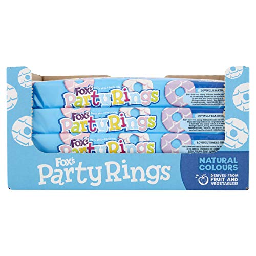 Fox's Party Rings (16 packets x 125g)