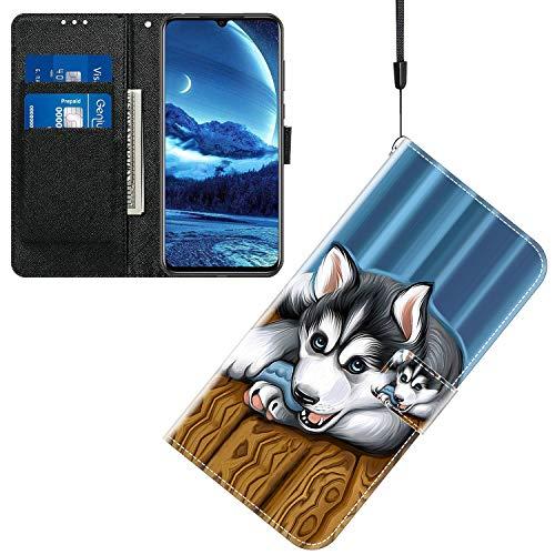 Jamitai Klapptasche für Handy Meizu M5 Hülle Leder Handytasche Handyhülle Brieftasche Hüllen Hülle mit Kartenfach & Ständer/ZMT01P-0C