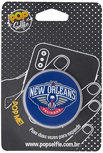 Apoio para celular - Pop Selfie - Original Nba New Orleans Pelicans Pp19, Pop Selfie, 155840, Branco