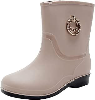 GNYD Damen rutschfest Stiefel Winter Warm Mode wasserdichte Plateauschuhe Schneeschuhe Warmhalten Stiefeletten