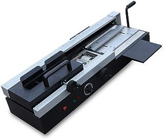 KDHARMR Wireless A4 Desktop Hot Melt Binding Machine Glue Book Paper Binder Glue Book Paper Binder 1200W(US Stock)