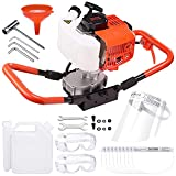 Yeshom 52cc One Man Earth Auger 2.2HP Gas Powered Post Hole Digger Machine